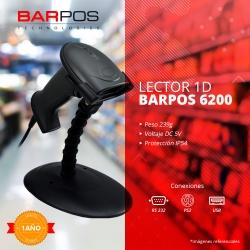 Lector de código de barra Barpos Well 6200