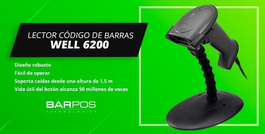 Lector Barpos Well 6200